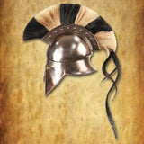Greek Corinthian Steel Helmet