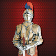 Medieval Gold Etched Suit of Armour