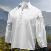 Civil War Ear Frontier Shirt - Bleached White