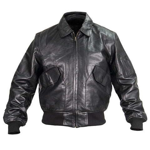 P-45 Leather Flight Jacket US Government Spec