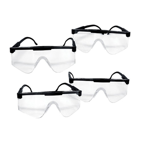 4 Pk Super Tough US Military Safety Glasses