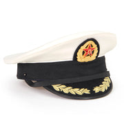 Chinese Naval Officer Cap