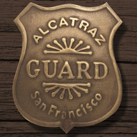 Alcatraz Guard Badge