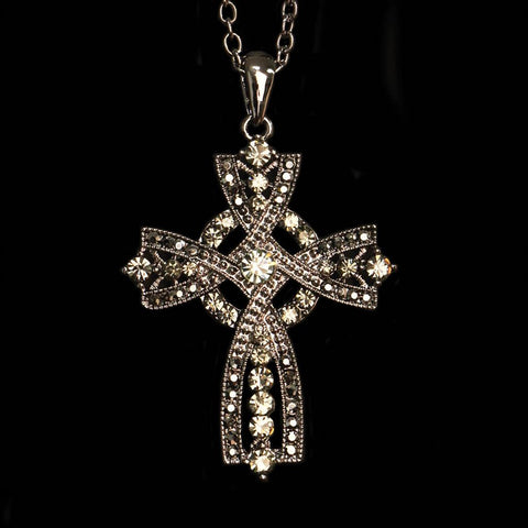 Brittany Cross Celtic Necklace