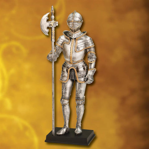 Burgundian Knight Statue - Suit of Armor