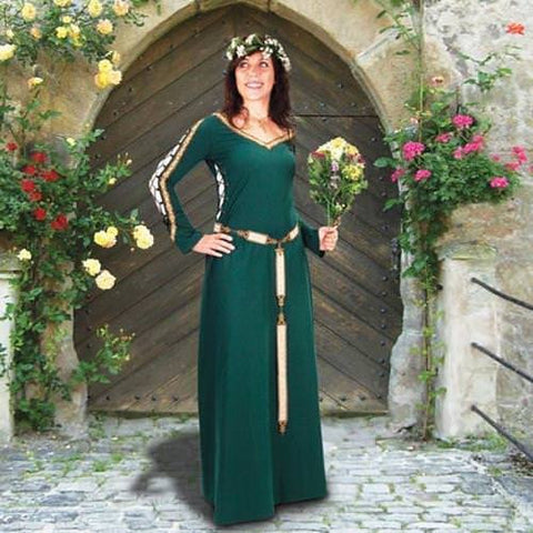Castleford Gown - Green