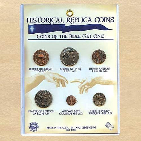 Coins of the Bible, Set One - costumesandcollectibles