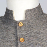 Confederate Jean Wool Vest - Collars