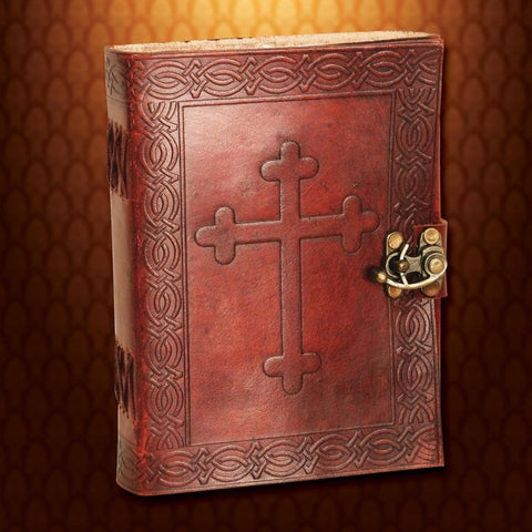 Crusader Leather Journal - Costumes and Collectibles