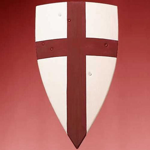 Crusader Wooden Shield - Costumes and Collectibles