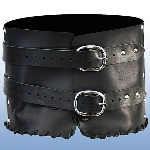 Dark Rogue Leather Belt - Costumes and Collectibles
