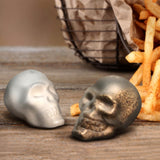 Doomed Skull Salt & Pepper Shakers