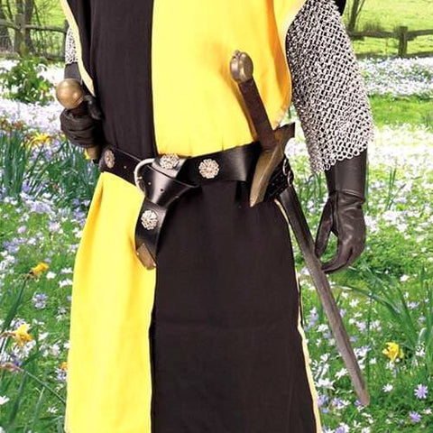 Double Adjustable Medieval Sword Belt - costumesandcollectibles