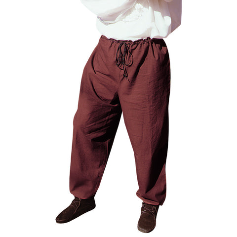 Drawstring Cotton Pants - costumesandcollectibles
