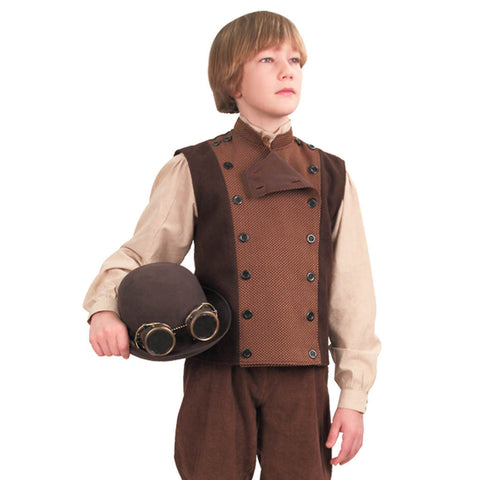 Edison Vest for Children  sc 1 st  Costumes and Collectibles & Children Renaissance Costumes Children Medieval Costumes