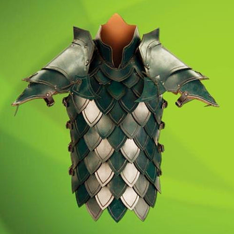 Elven Green Battle Armour