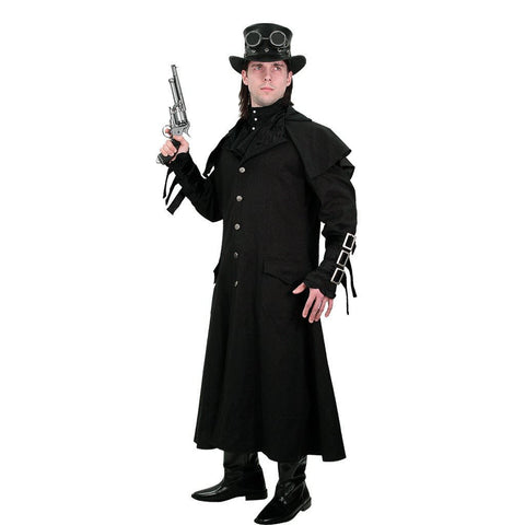 Empire Gentleman's Steampunk Coat - Costumes and Collectibles