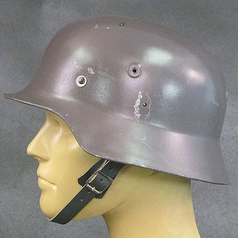Finnish Contract German M40 WWII Type Steel Helmet