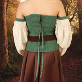 Forest Gown - Lace-up Back