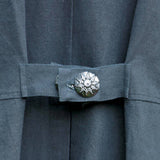 French Highwayman Coat - Button Details
