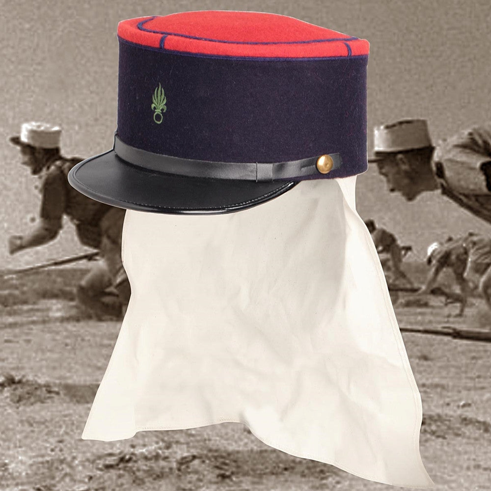 French Foreign Legion Sahara Kepi Costumes And Collectibles