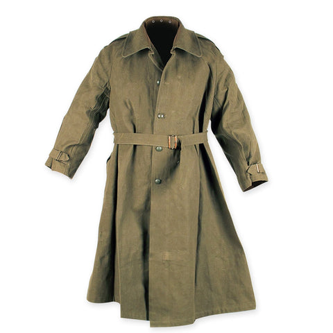 French WWII Motorcycle Duster Jacket