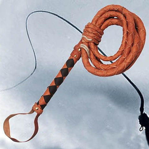 Full Grain Leather Adventurers Whip