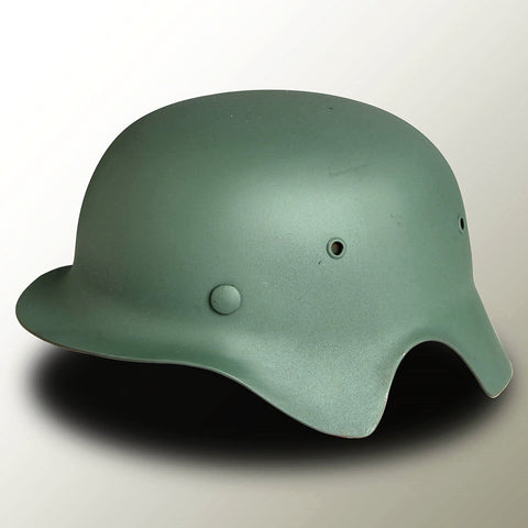 German WWII Luftwaffe Flak Helmet - Side profile