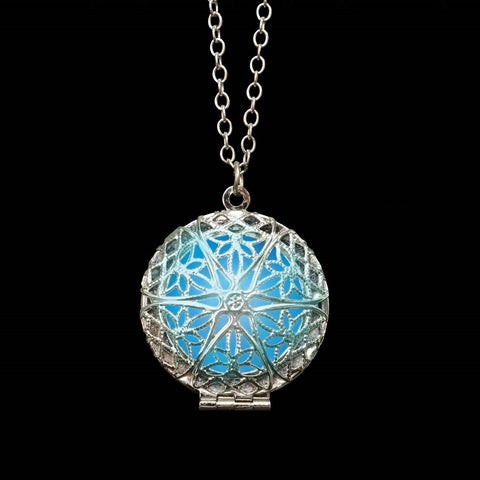 Glow in the Dark Round Locket