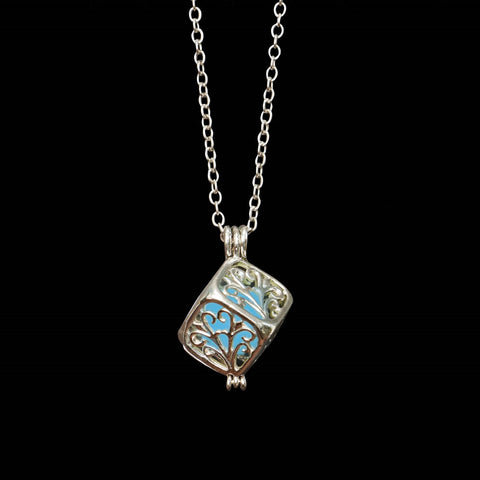 Glow in the Dark Square Locket