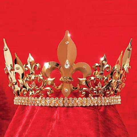 Gold Kings Crown by Costumes and Collectibles