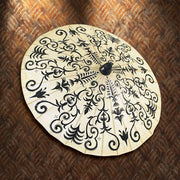 Hand Painted Henna Paper Parasol
