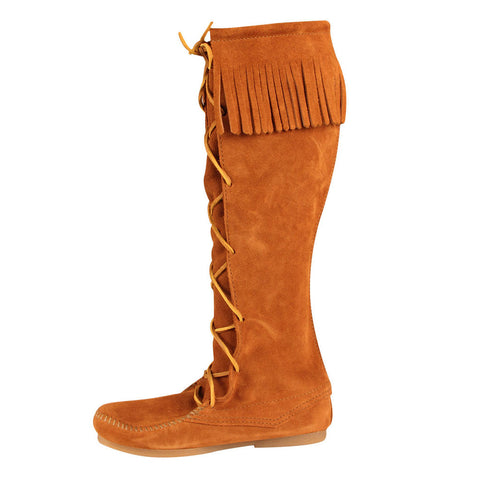 High Boots with Fringe - costumesandcollectibles