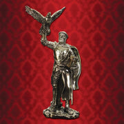 Hospitaller Knight with Falcon Statue