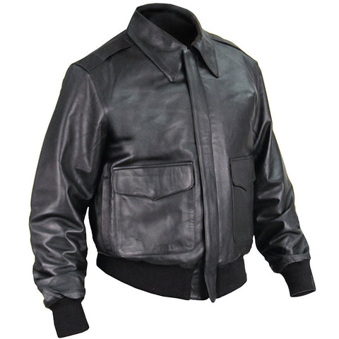 A-2 Leather Flight Jacket US Government Spec