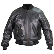 MA-1 Leather Flight Jacket US Government Spec