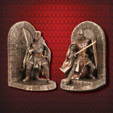 Maltese Knight Defense of the Realm Bookend - costumesandcollectibles
