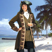 Mary Read Pirate Coat - Costumes and Collectibles