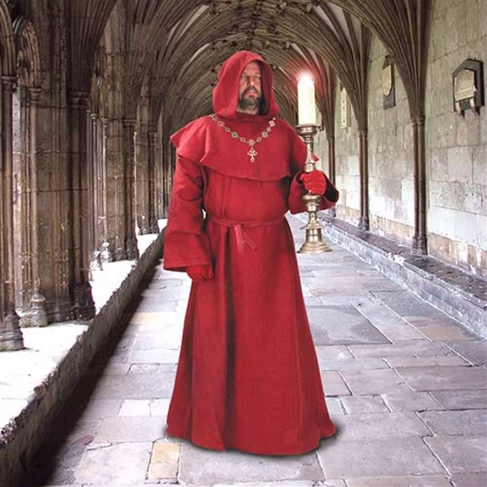 Medieval Monk S Robe And Hood Costumes And Collectibles