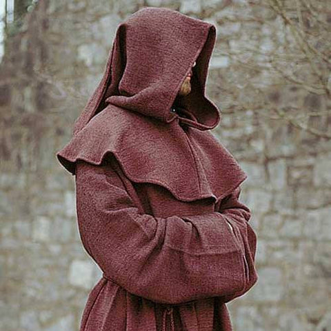 Monk's Robe and Hood - costumesandcollectibles