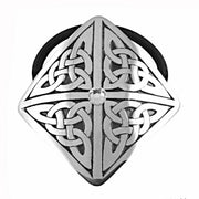 Pewter 4 Part Jeweled Celtic Hair Band