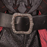 Faux Snakeskin Pirate King Belt
