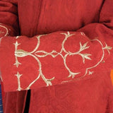Rand's Red Coat - Golden Embroidery, Brocade