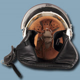 East German Military Police Riot Helmet with Padding