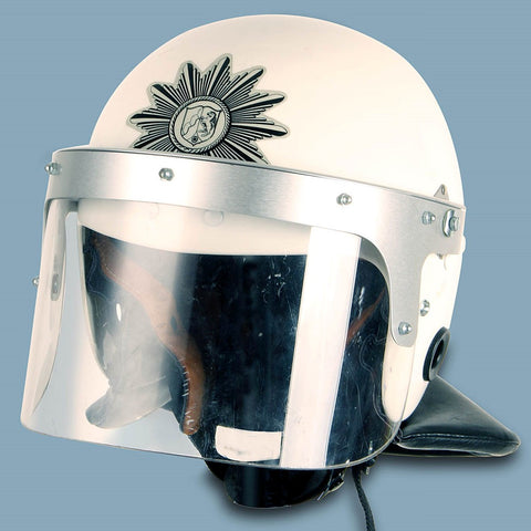 Surplus East German Military Police Riot Helmet