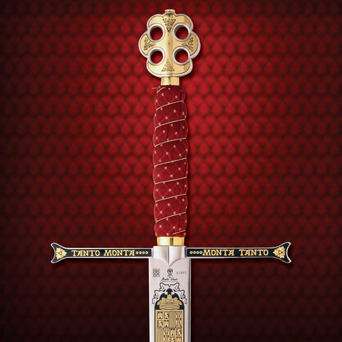 Sword of the Catholic Kings Limited Edition - Pommel, Grip & Guard details