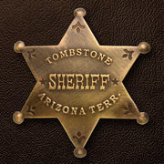 Tombstone AZ Sheriff Badge