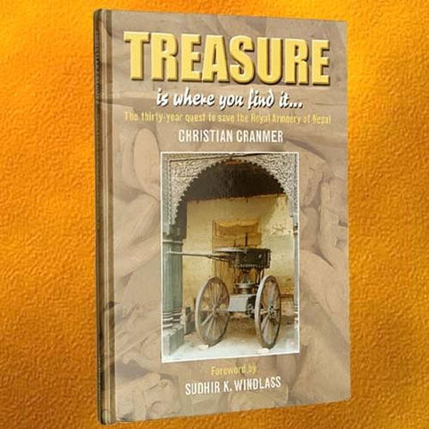 """Treasure is Where You Find It"" Hardcover Book"