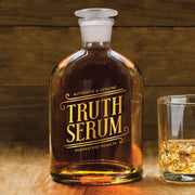 Truth Serum Glass Decanter