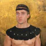 Suede Warrior Mantle - Costumes and Collectibles